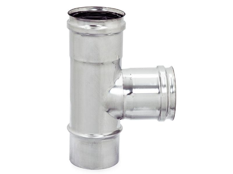 Raccordo inox a t 90 zinco group s p a for Raccordo in acciaio verticale